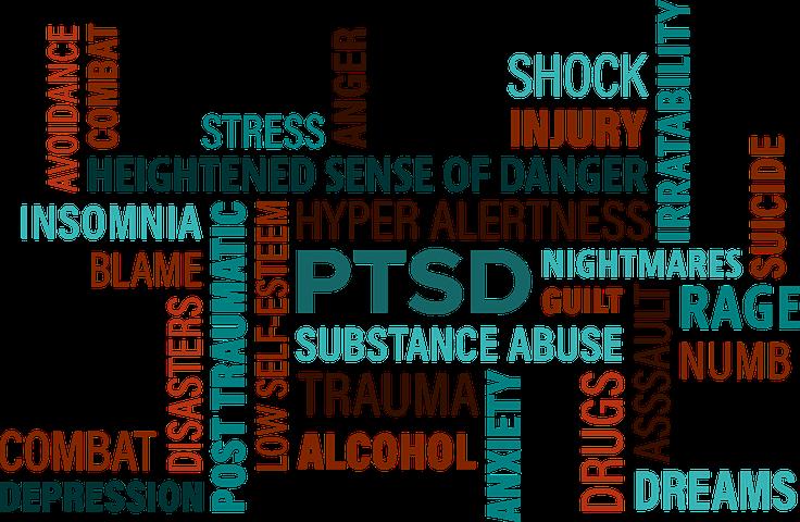 posttraumatisk stress fysiska symptom